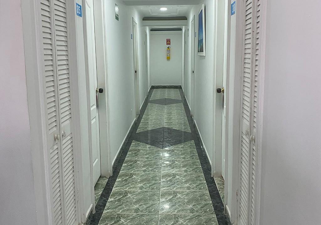ON VACATION - SAN ANDRES - HOTEL CORAL - PASILLOS